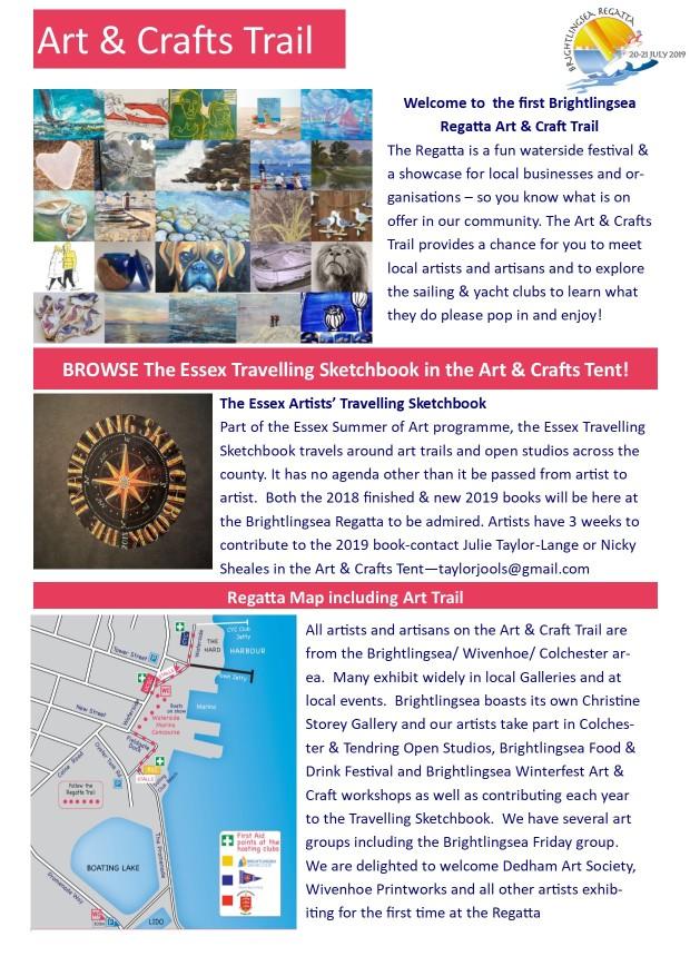 Arts&CraftsRegatta 2 page leaflet page 1 10519